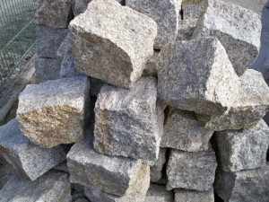 kostka granitowa szaro-ruda 15-17