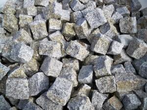 kostka granitowa szaro-ruda 4-6