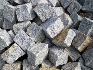 kostka granitowa szaro-ruda 8-11