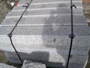 krawężnik granitowa szare