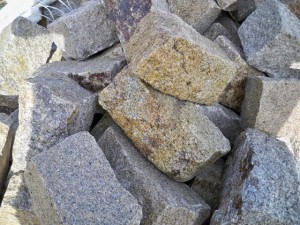 palisadka granitowa żółta 8-18
