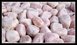 kwarc różowy 40-60 mm