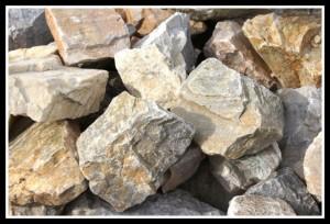 kamień biały łamany
