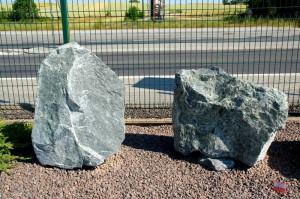kamień łamany zielony